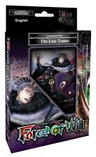 Force of Will TCG Reiya Cluster 3 - The Lost Tomes Deck