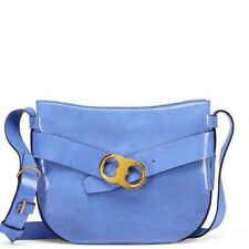 NWT $495 Authentic Tory Burch Gemini Link Patent Leather Crossbody Bag w/dustbag