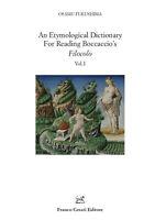 An etymological dictionary for reading Boccaccio's «Filo... - Fukushima Osamu