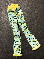 Monster High Doll Clothes Cleo De Nile Dead Tired Green & Yellow Trousers