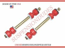 PAIR SWAY BAR LINKS BUSHINGS MADE IN USA WILL OUTLAST CHINA K6217 CAMARO