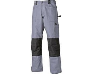 Dickies Grafter Duo Tone Trousers Cordura Knee Pad Work Pants - Grey