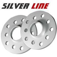 Spurverbreiterung Silver Line Silber Eloxiert 40mm Achse 20mm Seite LK 5x112 AU2