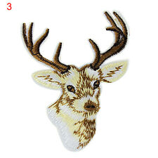 Animal Tiger Embroidered Patches Clothes DIY Appliques Patchwork Iron on Patch6t 3