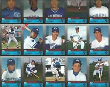 1992 SYRACUSE CHIEFS MINOR LEAGUE CARD SET CARLOS DELGADO RC AL LEITER HENTGEN