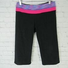 Lululemon 6 Pants Womens Cropped Black Reversible