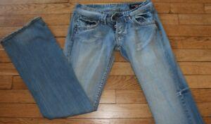 P&Y Denim Jeans pour Femme W 27 - L 32 Taille Fr 36 CARLA  (Réf #S239)