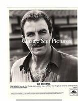 J605 Tom Selleck close up Mr. Baseball 1992 8 x 10 photograph