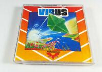 VIRUS 1988 Firebird Commodore Amiga Spiel Boxed OVP David Braben (elite) Sammler