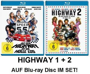 Auf dem Highway ist (wieder) die Hölle los, TEIL 1+2 Blu-ray Disc Set NEU + OVP!