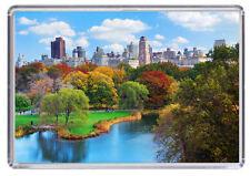 Central Park New York Fridge Magnet 02