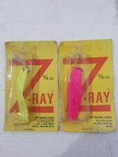 Z-Ray 5//8 oz Copper with Red Spots Fishing Lure