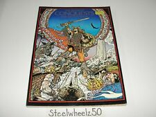 Book Of Conquests Graphic Novel 1978 Jim Fitzpatrick 1st Print Softcover RARE