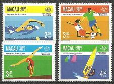 Macau - Olympische Sommerspiele - Atlanta Satz postfrisch 1996 Mi. 868-871