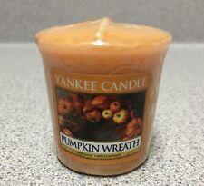 Yankee Candle Votive Sampler Pumpkin Wreath Scented NEW