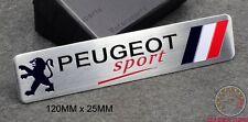 PEUGEOT SPORT BADGE EMBLEM - 208 V3R 107 206 207 GTI WRC TURBO 205 306 307 CC