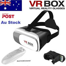 NEW VR BOX Headset 2.0 Virtual Reality 3D Glasses Goggles for Android IOS iPhone