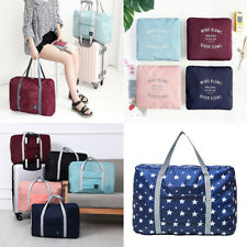 US Foldable Travel Luggage Carry-on Shoulder Duffle Bag Lightweight Sport Tote