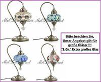 L Gr Mosaik Tischlampe Orientalische Stehlampe Handgefertigt Deko-Türkisch Lampe