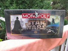 Monopoly Star Wars Classic Trilogy Edition 1997 New & Factory Sealed!