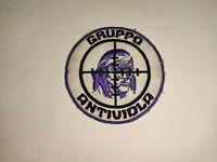TOPPA PATCH JUVENTUS GRUPPO ANTIVIOLA ULTRAS TIFOSI JUVE ANNI '90 RICAMATA