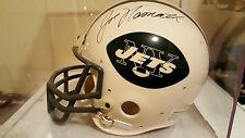 Joe Namath New York Jets Autographed Signed Rare Full Sized Helmet! COA!