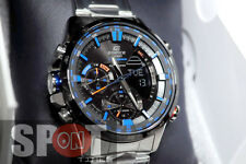 Casio Edifice Neon Illuminator Stainless Steel Men's Watch ERA-300DB-1A2