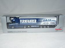 87 de Herpa 933919 Scania Hauber cortina plan SZ-H.D.T.V / camioneros 1: nuevo...