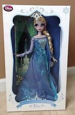 """Disney Store Limited Edition Frozen Snow Queen Elsa Doll 17"""" Doll LE of 2500"""