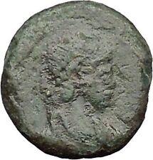 THEODOSIUS I the Great 388AD Rare Roman Coin Bivouac Military Camp Gate i32851