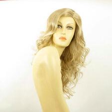 Perruque femme longue blond méché blond très clair JENNIFER 15t613