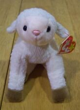 TY Beanie Baby EWEY THE LAMB Plush Stuffed Animal NEW