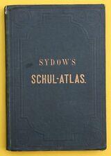 E.VON SYDOW`S SCHUL-ATLAS IN ZWEI UND VIERZIG KARTEN,JUSTUS PERTHES,1870,RAR