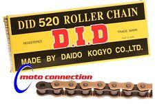 Hizo 520 Cadena de oro/negro para Yamaha YZ125/250 YZF250/426/450 WRF250/426/450