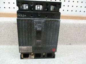 ITE 100 AMP CIRCUIT BREAKER 240 VAC TRIPS TAG HARD TO READ # 329122K USED