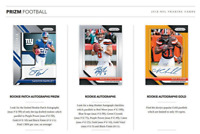 2018 PANINI PRIZM FOOTBALL HOBBY LIVE RANDOM PLAYER 1 BOX BREAK 3 AUTOS