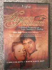 HEALTHY SEXUALITY A Biblical Perspective AACC COMPLETE DVD Set Christian NEW