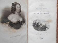 NOUVEAU CHOIX DES LETTRES DE MADAME DE SEVIGNE - L'ABBE ALLEMAND - ED. MAME 1859