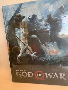 The Art Of God Of War Hardcover Book Sealed  Santa Monica Studio  NEW