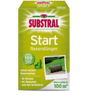 SUBSTRAL Start Rasendünger 2 kg NPK 18-22-5