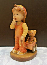 """Anri """"Finding Our Way"""" Sarah Kay 6"""" Woodcarved Boy Figurine"""