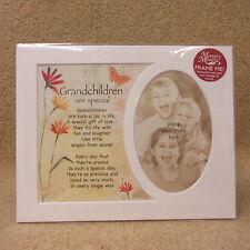 "A Special Grandchildren photo frame mount 10"" x 8"""