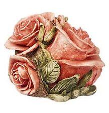 Harmony Kingdom Double Pink Rose Lord Byron's Harmony Garden Mib