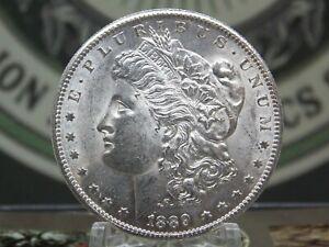 """1889 """"S"""" Morgan Silver Dollar $1 #7  East Coast Coin & Collectables, Inc."""