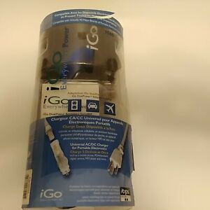 iGo Everywhere Power Universal AC/DC Charger for Portable Electronics, New