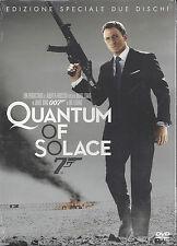 2 Dvd **007 QUANTUM OF SOLACE** con Daniel Craig nuovo Ediz. Speciale 2008