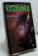 Dream Makers - Interviews by Charles Platt - First paperback - 1980 - sf authors