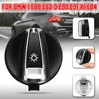 Auto Headlight Switch Knob Fog Light Button For BMW 1 E88 E82 3 E90 E91 X1  F!