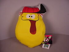 Funny Face Lefty Lemon Pillow Toy advertising figure doll drink mix new w/tags