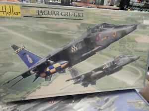 HELLER plastic model 1/48 scale JAGUAR GR1/GR3